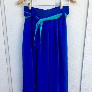 Vintage 4 piece set; skirt, belt, tank, shirt